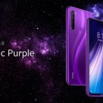 Xiaomi introduced Redmi Note 8 in the new Cosmic Purple