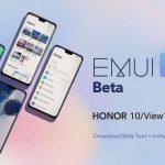 Honor 10 et Honor View 10 reçoivent la version bêta d'EMUI 10 en Europe