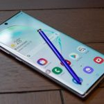 "Galaxy Note 10 Lite ""lit up"" on the official website of Samsung"