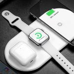 Baseus 3-in-1 Wireless 18 Watt Charger for $ 24 will charge iPhone, Apple Watch and AirPods at the same time