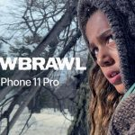 "Snowbrawl: a commercial shot by the director of ""Deadpool-2"" on the camera iPhone 11 Pro"