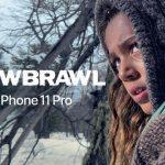 """Snowbrawl: """"Deadpool-2"""" -ohjaajan kaupallinen laukaus kameraan iPhone 11 Pro"""