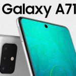 تجسيد جديد لجهاز Samsung Galaxy A71: حواف رقيقة جداً وقطاعات ، مثل Galaxy Note 10
