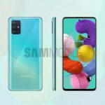 Specifications and press renderings of the Samsung Galaxy A51: 6.5 ″ Infinity-O screen, 48 MP camera, Exynos 9611 chip and 4000 mAh battery (updated)