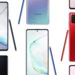 Kuinka paljon Samsung Galaxy Note 10 Lite maksaa Euroopassa