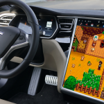 Elon Musk startet Starde Valley Farmer Simulator auf Tesla Electric Cars