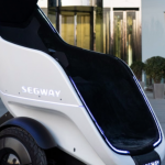 Segway S-Pod: futuristic egg-driven throne on wheels