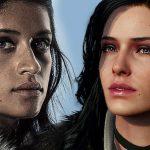 Das neuronale Netz hat die Darsteller der Serie The Witcher durch Charaktere aus dem Spiel ersetzt