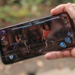 The first gaming smartphone with a 144 Hz screen is shown