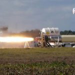 In the US, tested the engine for hypersonic missiles