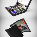 Lenovo announced the world's first flexible tablet
