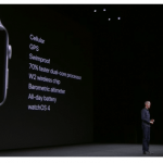 Apple introduced the new Apple Watch Series 3 with integrated mobile