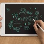 $ 13 10-inch monochrome Xiaomi Mijia Blackboard graphics tablet