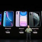 Älypuhelimien näytön koon kasvu viimeisen viiden vuoden aikana määritetään
