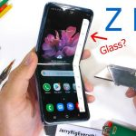 Is the Galaxy Z Flip's display covered in plain plastic? Samsung suspected of lying