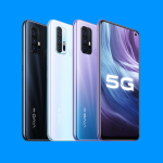 vivo Z6 5G appeared on high-quality renders with a camera design, like the Huawei P40