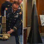 У США показали зовнішній вигляд новітнього гіперзвукового зброї