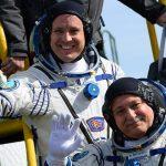 Der Astronaut kehrte nach einem Rekord von 328 Tagen im Orbit zur Erde zurück