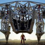 Created the world's largest exoskeleton for humans