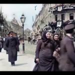 Computer colorized and improved the quality of video from imperial Russia