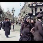 Počítač obarvil a vylepšil kvalitu videa z císařského Ruska