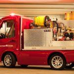 أظهر اليابانيون سيارة كهربائية صغيرة تعمل بالحريق