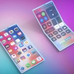 Apple invented a foldable smartphone with no fold lines on the screen
