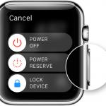 So starten Sie die Apple Watch neu