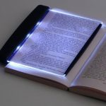 $ 3 LED reading lamp in the dark
