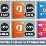 Työkalut kotona työskentelemiseen: kuukauden alennukset Windowsille ja Officelle Keysworldsissa