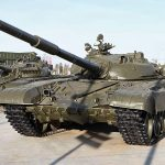 The Russian military rehearsed the battle with the tank armada of the enemy
