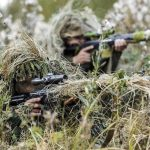 Russian snipers hit a target the size of a 5-ruble coin from a distance of almost 1 km