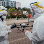 Drone technology against coronavirus
