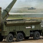 A video appeared on the network with the launch of Russian Iskander-M missiles