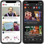 Yötilan ottaminen käyttöön YouTubessa iOS: lle
