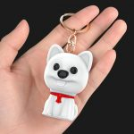 Hyundai E300: voice activated keychain voice recorder disguised as a toy