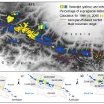 The glaciers of the Caucasus decreased by 16% over 30 years