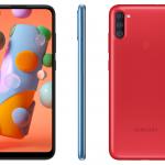 Společnost Samsung tiše představila cenově dostupný displej Galaxy A11: 6,4 ″, trojitý fotoaparát a baterii 4000 mAh