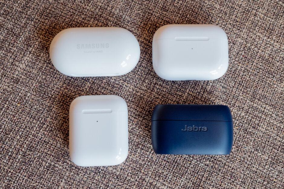 Samsung Galaxy Buds Vs Airpods Pro Airpods Jabra Elite Active 75t Geek Tech Online
