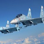 Two Russian Su-27s intercepted a Belgian plane over the Baltic Sea
