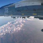 На відео показали ефект смерчу, викликаний російським бомбардувальником