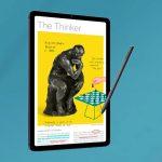 Byly oznámeny ruské ceny cenově dostupného tabletu Samsung s podporou dotykového pera