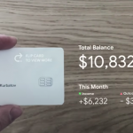 The designer showed a futuristic way to use bank cards