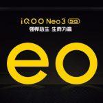 Vivo wird am 23. April das iQOO Neo 3 5G-Smartphone mit einem Snapdragon 865-Chip und einem 144-Hz-Display wie das Nubia Red Magic 5G vorstellen