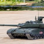 The latest tank of the Russian army compared with foreign counterparts