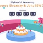 iMyFone GIVEAWAY järjesti jälleen: lahjoja ja suuria alennuksia