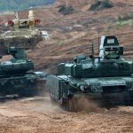 In Ukraine, criticized the new Russian tank