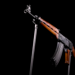 The world's only Kalashnikov assault rifle is shown.