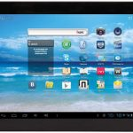 9.7-inch Ritmix RMD-1055 tablet running Android 4.1 with 3G module