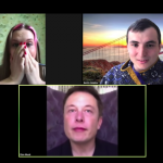 "Created a tool for ""reincarnation"" in Ilona Mask during a video call"